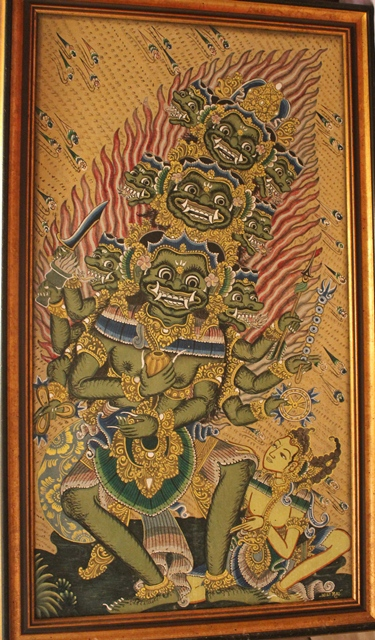 28 Balinese painting IGST